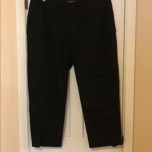 INC black Ankle pants 16WP like NEW